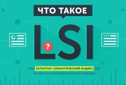 Продвижение сайта LSI статьями в 2019