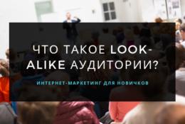 Что такое Look-alike аудитории? Как это работает?